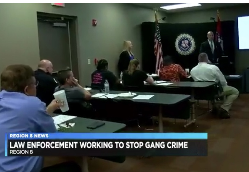 Prosecutors and law enforcement work together on gang related crime Board of Directors meeting held